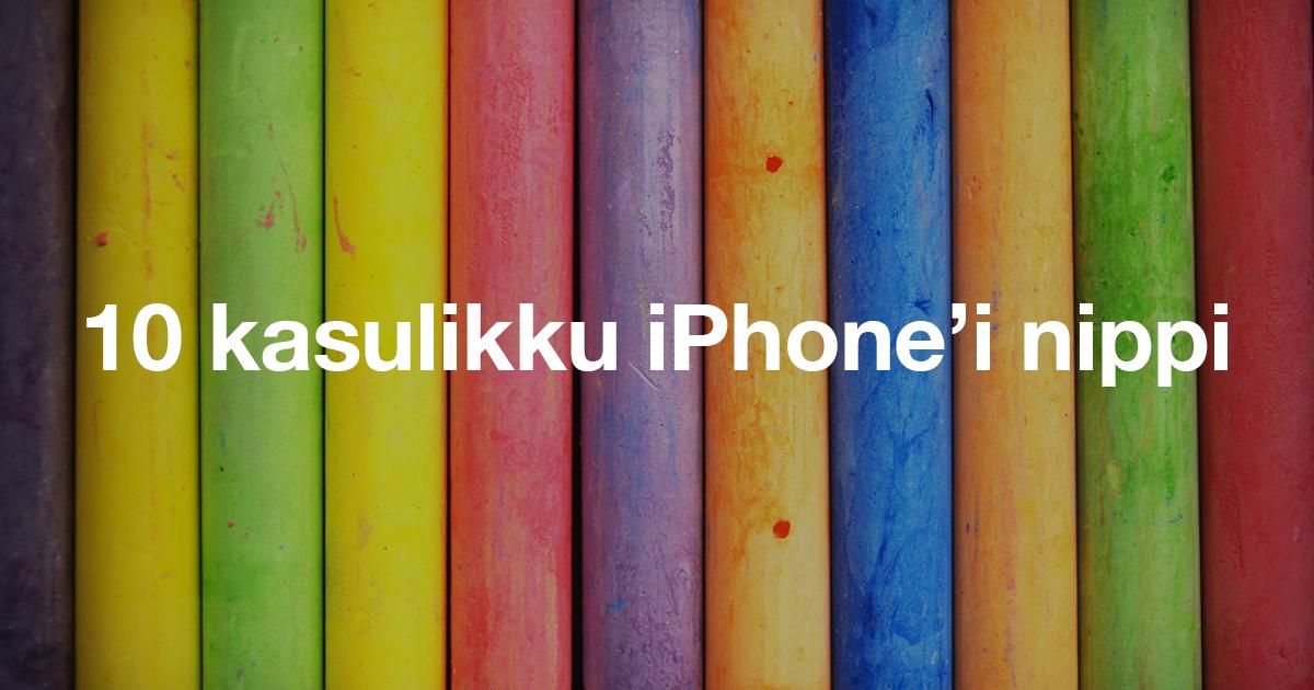 iPhone trikid nipid õpetus mobipunkt ipad macbook apple remont müük kasutatud