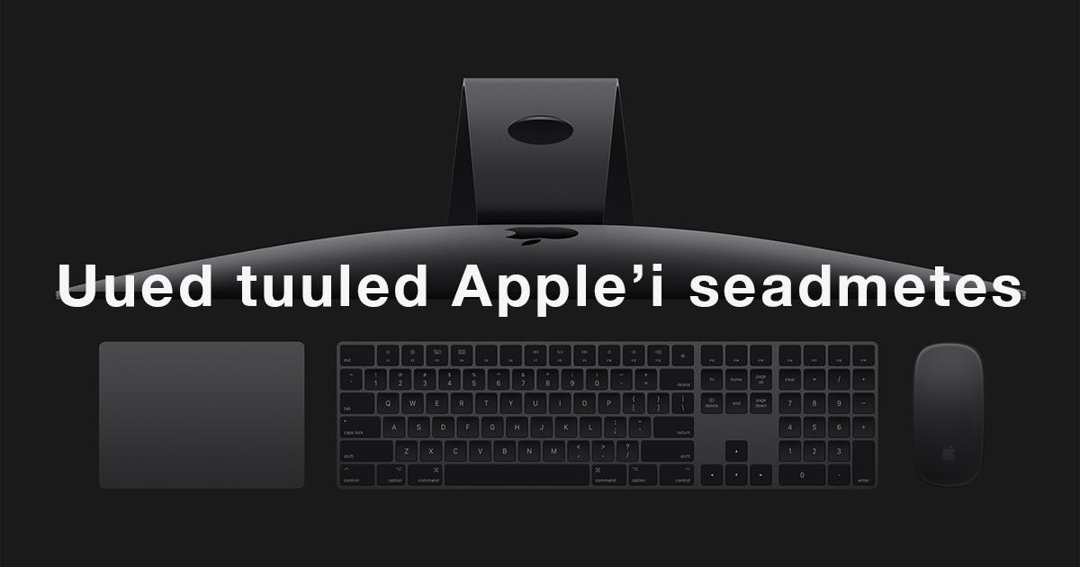iPhone iPad MacBook Watch Homepod iMac Pro Apple Mobipunkt kõlakad iphone 8 imac pro