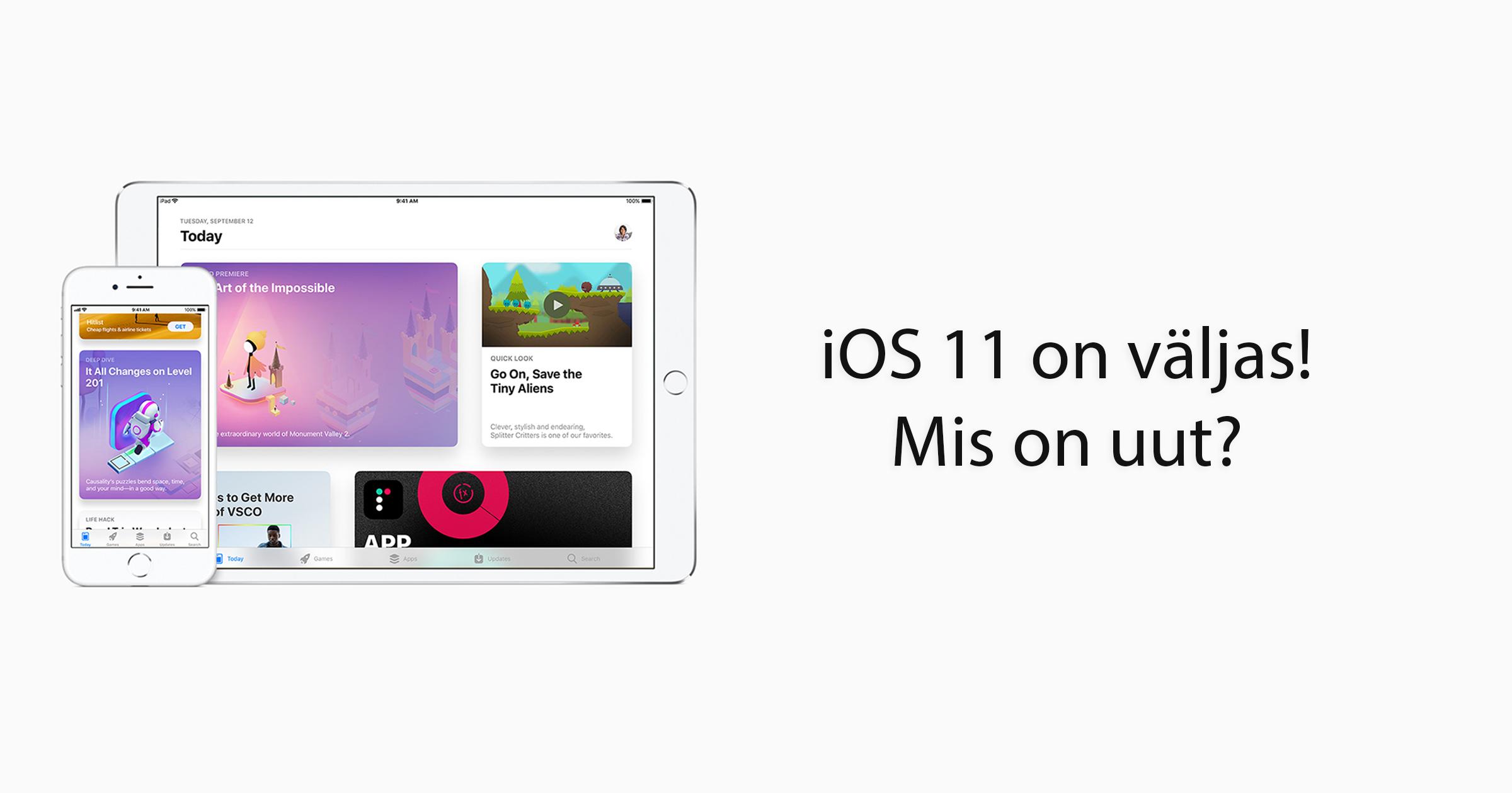 Apple iphone ios 11 uus ios uus tarkvara mobipunkt iphone ipad photos siri liitreaalsus