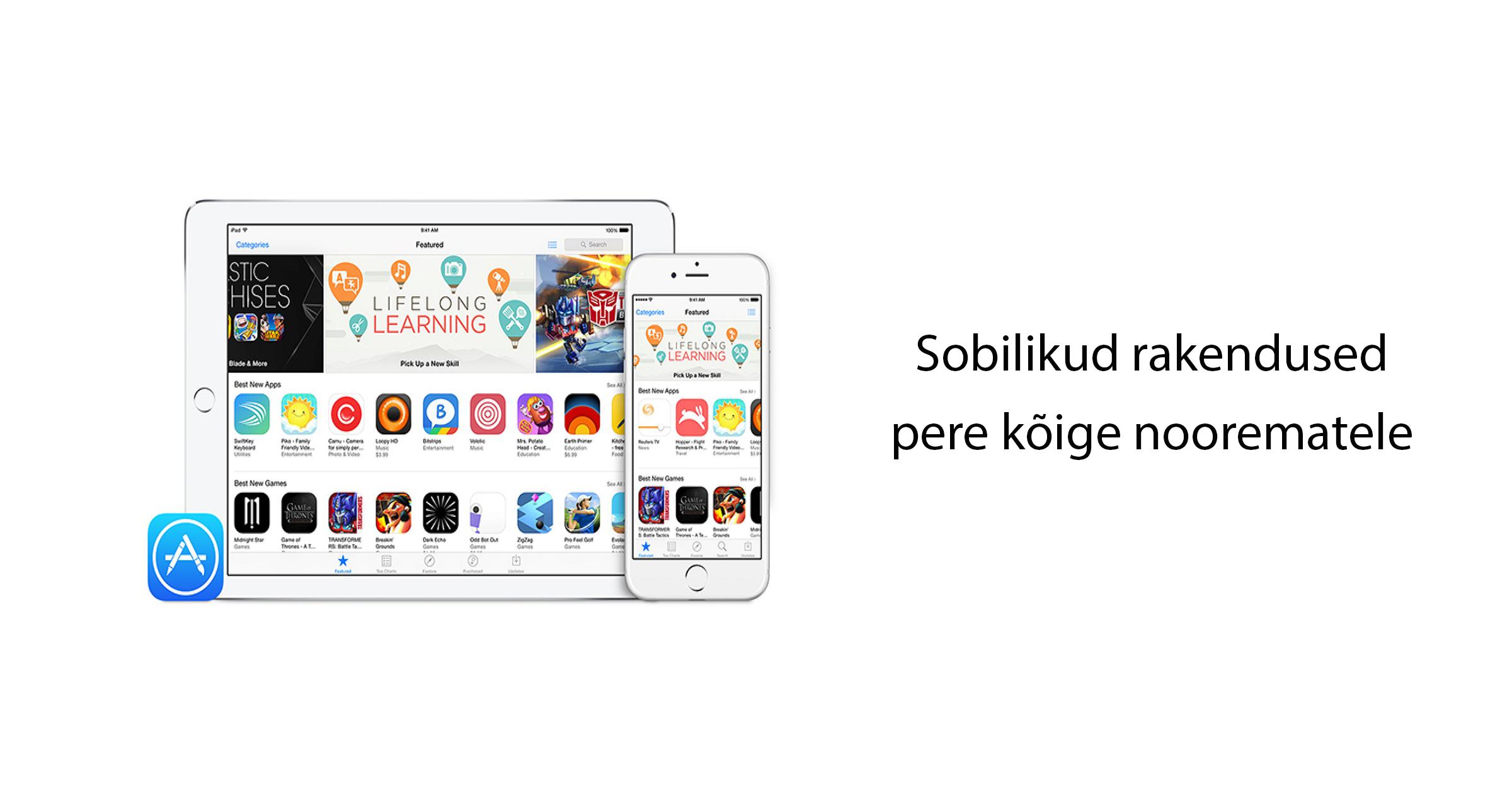 Mobipunkt Apple Ipad mängud lastele